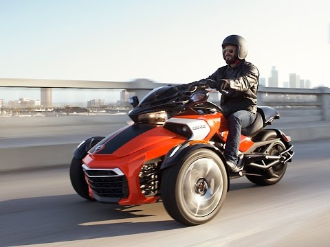 2015 Can-Am Spyder F3 First Official Pictures