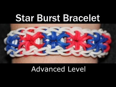 Instruction 25: Rainbow Loom® Star Burst Bracelet