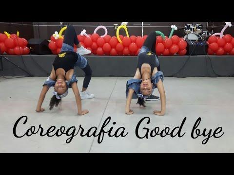 Maquiagem - Coreografia da música Good Bye-- bailarinas Maria e Gabi