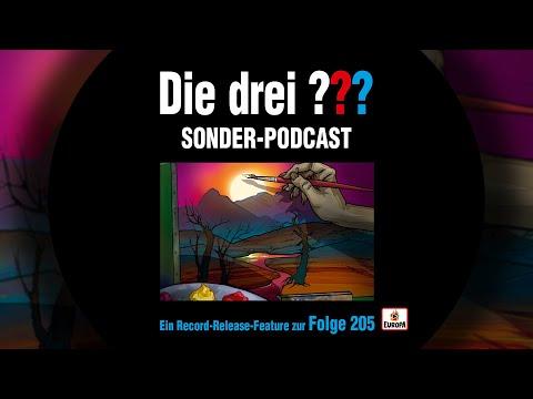 Die drei ??? - Record Release Feature Folge 205   Sonder Podcast