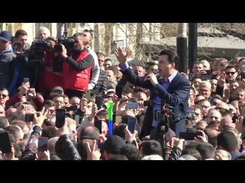 Νέες διαδηλώσεις στα Τίρανα κατά του Έντι Ράμα