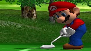 The Lakitu Cup of the tournament mode from Mario Golf: Toadstool Tour for the GameCube.-My Twitter https://twitter.com/Typhlosion4Pres