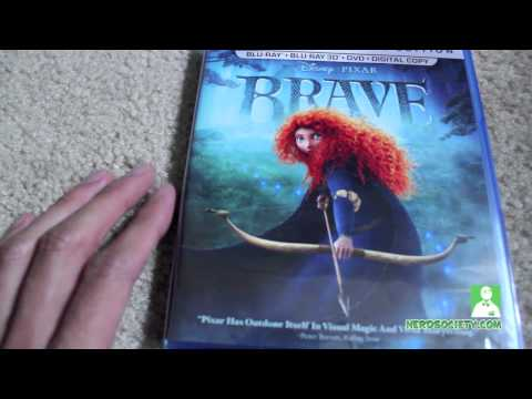 0 Unboxing Brave 3D Blu ray 5 Disc Set
