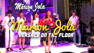 Video Marion Jola - Versace on The Floor live at Jogjakarta MP3, 3GP, MP4, WEBM, AVI, FLV Agustus 2018