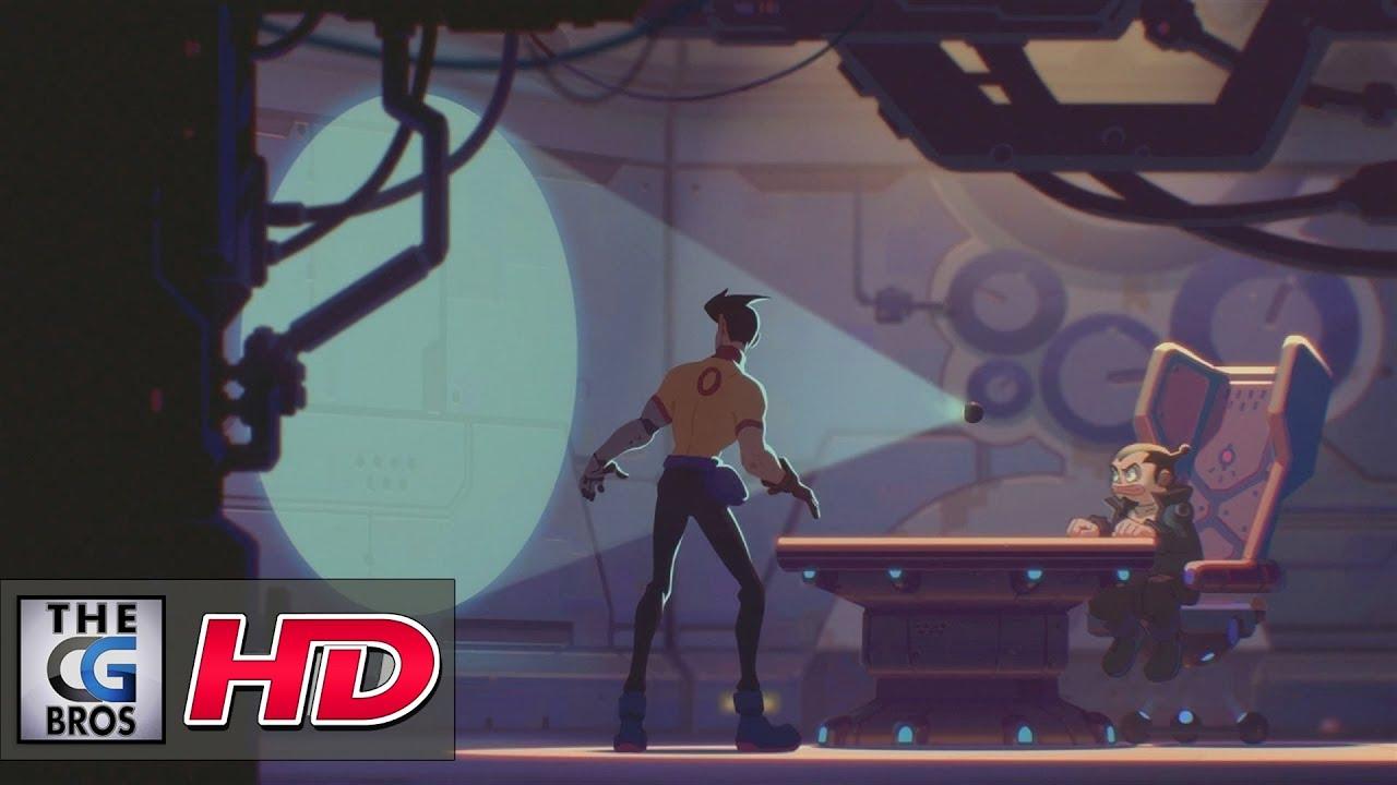 CGI 2D Anime Short Animation film X-STORY by Vitaliy Shushko