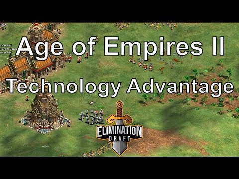 Aoe2: Technology Advantage (TaToH vs TheViper G2) - Elimination Draft