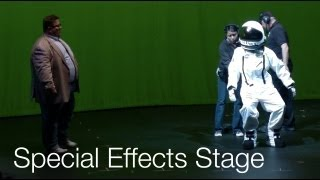 Special Effects Stage - Despicable Me - Universal Studios Hollywood