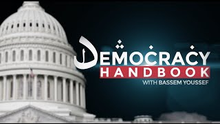 "u200b""The Democracy Handbook with Bassem Youssef"" follows Youssef as he travels through America to learn the virtues of democracy – but learns our democracy isn'..."