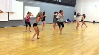 Another FACE Dance for BHS Adv Dance. Story: someone you love got involved with drugs & died & you are going through FEAR,...