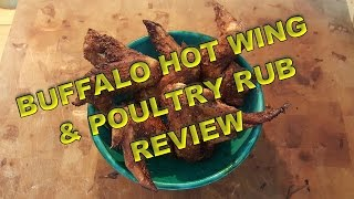 Buffalo Hot Wings & Poultry Rub Review