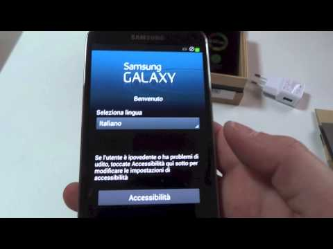 Samsung Galaxy S4 - Video anteprima e Unboxing