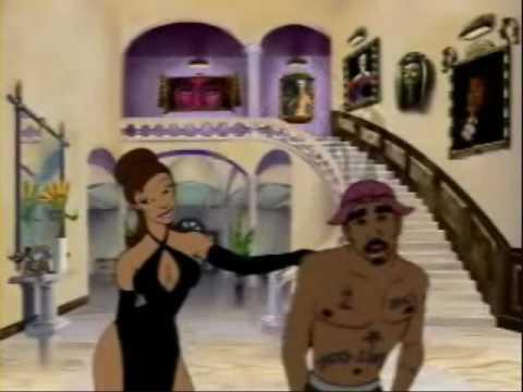 2pac Do For Love vs. Kanye West Flashing Lights Mashup