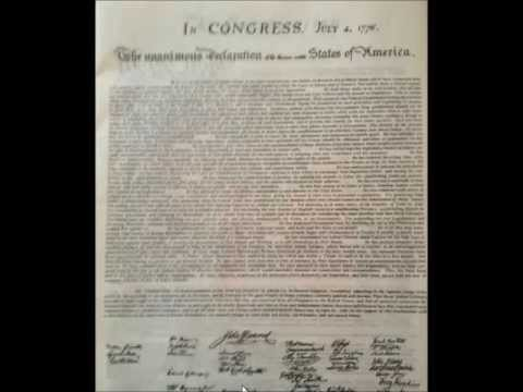 Enslavement of the American People-Part 5- Declaration of Independence