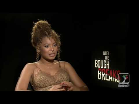 Jaz Sinclair Interview When The Bough Breaks