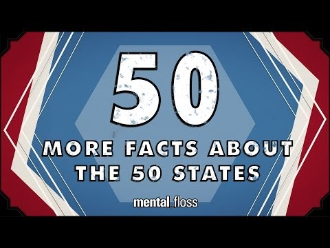 50 More Facts About the 50 States