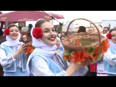 Igor Dodon a participat la Festivalul Vinului din Găgăuzia