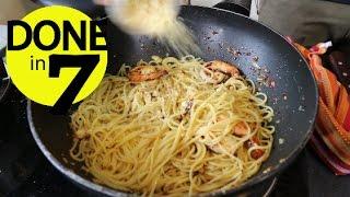 Video Spaghetti Oglio Olio - Done In 7. MP3, 3GP, MP4, WEBM, AVI, FLV Desember 2018
