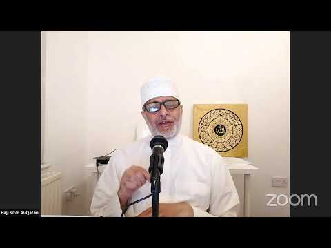 Night 4: Dua Recitation w/ Haj. Nizar Al-Qatari