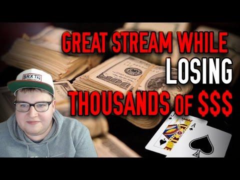 Playing BLACKJACK & LOSING $2000