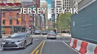 Washington (NJ) United States  city photos : Driving Downtown - Jersey City New Jersey USA