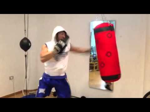 Workout boxing light punch bag Alberto Turi