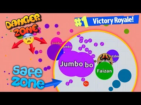 Agar.io - INSANE WIN IN NEW AGARIO BATTLE ROYALE Game Mode (видео)