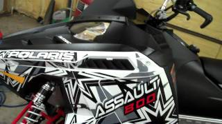 6. 2012 Polaris 800 Switchback Assault 144 International