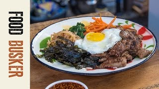 Bibimbap Recipe | Food Busker by Food Busker