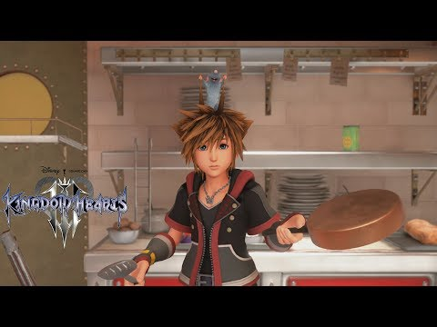 Kingdom Hearts 3 - Bistro Cooking Mini-Game Gameplay [1080p 60FPS HD]