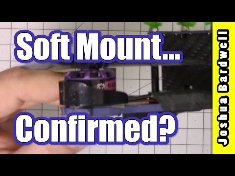 Soft Mount Quadcopter Motors | MYTH BUSTED OR CONFIRMED? (видео)