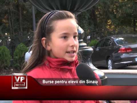 Burse pentru elevii din Sinaia