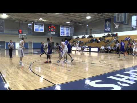 Men's Basketball Highlights vs. Albertus Magnus