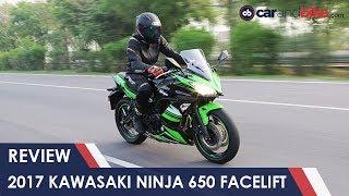 9. 2017 Kawasaki Ninja 650 Facelift Review   NDTV CarAndBike