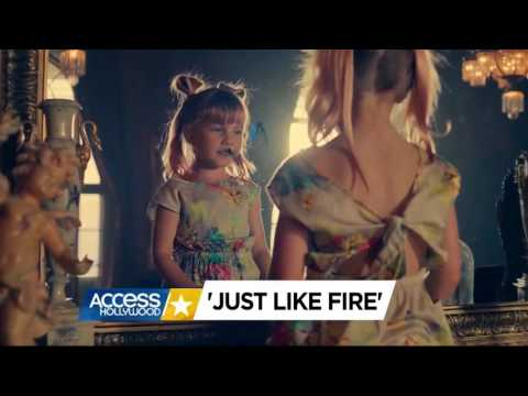 P!nk -Just like fire the fragment of the announced music video