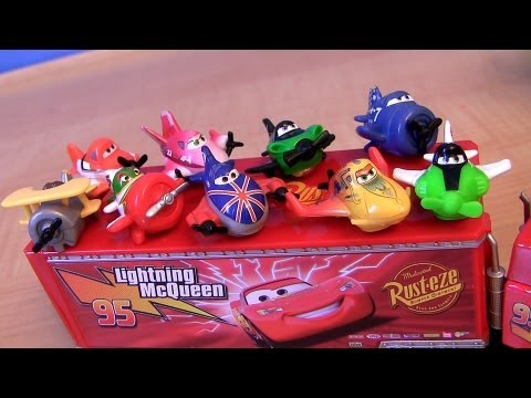 Planes - Here's the new micro drifters from Disney planes just released by mattel toys. They are a 3-pack and comes with Ripslinger, Ishani, Zed, Rochelle, Bulldog, L...