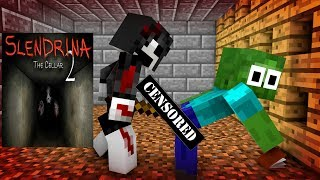 Video Monster School : SCARY SLENDRINA THE CELLAR CHALLENGE - Minecraft Animation MP3, 3GP, MP4, WEBM, AVI, FLV Juni 2018