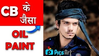 Video CB Editing Oil Painting In Picsart || CB Edit Smooth Face Skin In Picsart || Picsart like Photoshop MP3, 3GP, MP4, WEBM, AVI, FLV Juli 2018