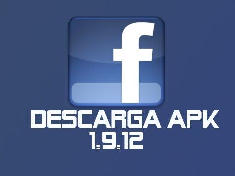Descargar Facebook android  APK ligero 1.9.12 Gratis!!