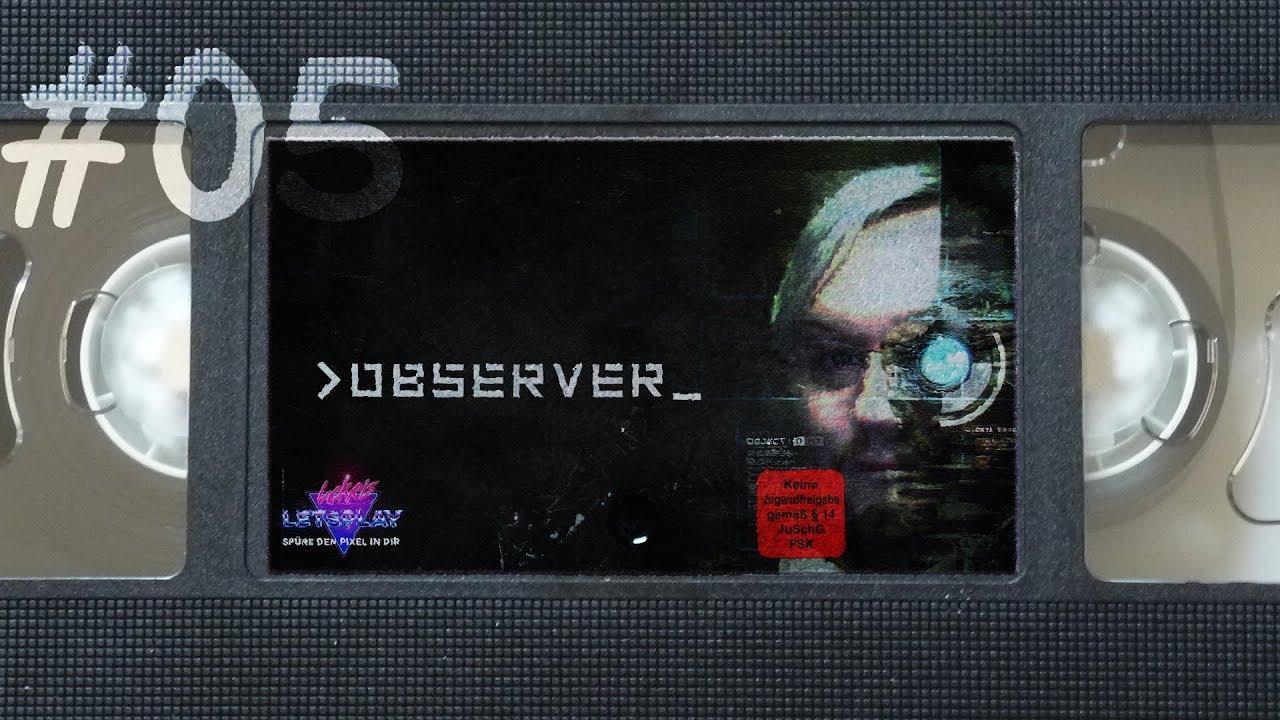 #05 - Im Kopf einer Toten | Let's Play Observer