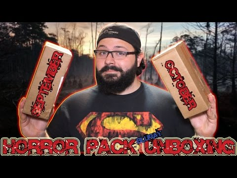 Horror Pack Bluray Unboxing #6 (September & October) | BLURAY DAN