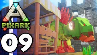 PixARK • CASTLE UPDATE! Iron Tools & Stego Tame! (Ep.09)