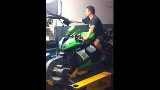 8. 2009 Zx10 stage 1