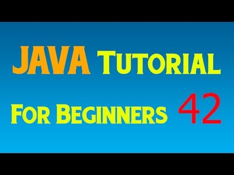 Java Tutorial for Beginners – 42 – GUI – Setting up Listener, User Events and Input