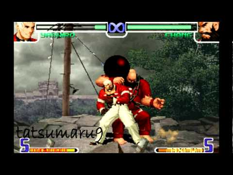 KOF 2002 - YASHIRO COMBO 21 hits full 100 % de vida