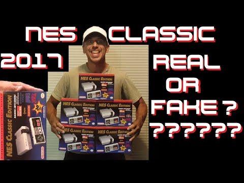 NES Classic Edition 2017 Replica or Real ????