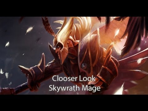 Skywrath - My Dota 2 Closer Look with Skywrath Mage. For April we have Skywrath Mage. I haven't really played him so much in classic DotA, so it will be something new t...