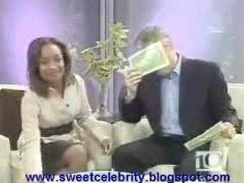 TV host muffs it