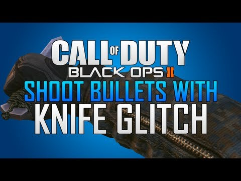 Black Ops 2 Glitches: Shoot with Knife Glitch & More! (Knife Animation Glitch)