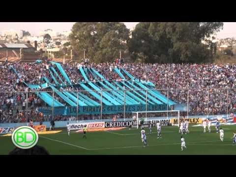Video - Hinchada de BELGRANO - Belgrano 3 Atlético de Rafaela 2 - Los Piratas Celestes de Alberdi - Belgrano - Argentina