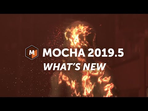 Mocha Pro 2019.5 Quick Look